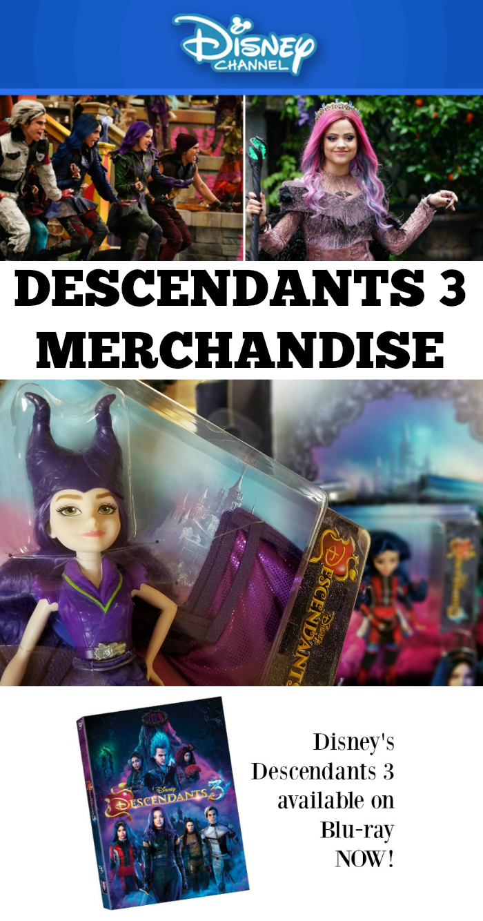 DESCENDANTS 3 MERCHANDISE