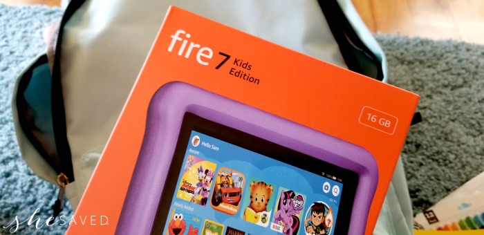 Fire 7 Kids Edition from Amazon