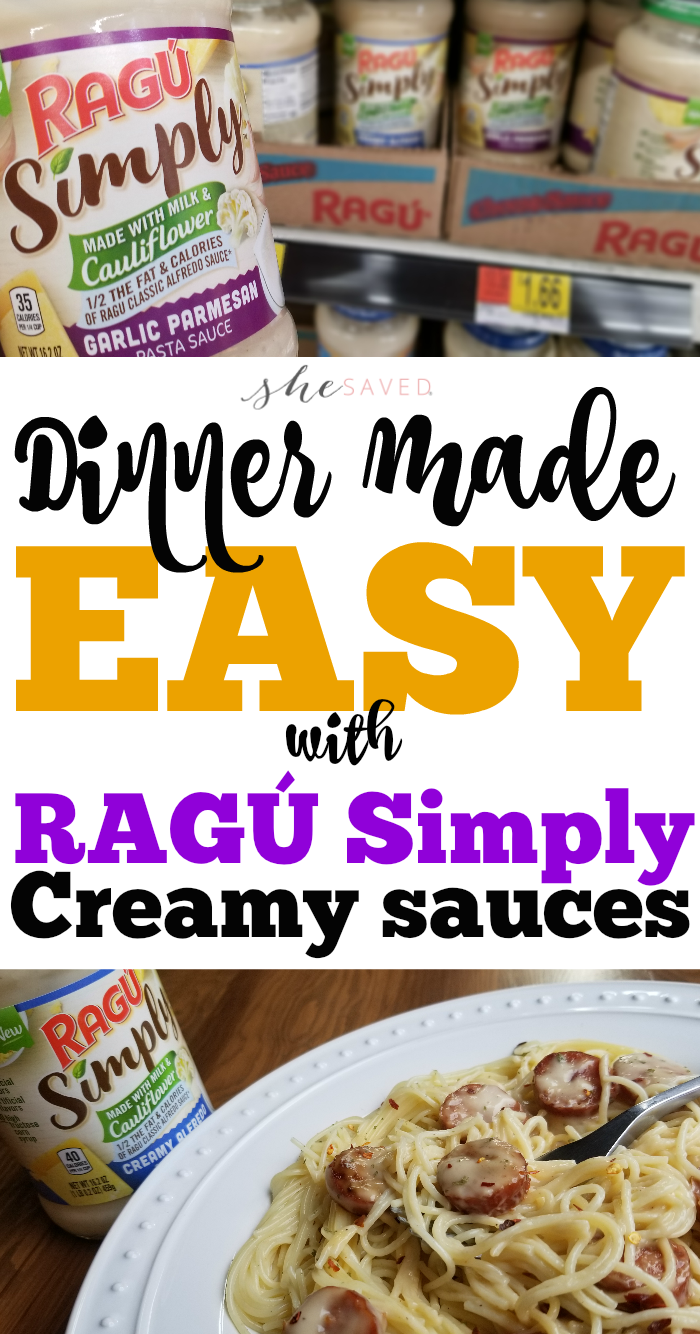 Ragu Simply Creamy Sauces