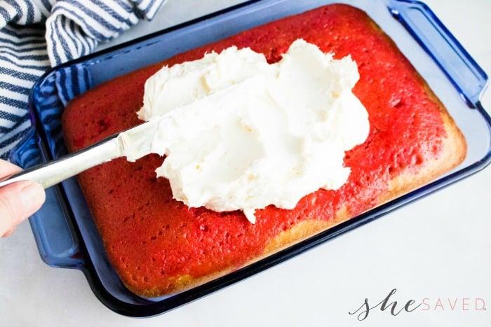 frosting for poke cake