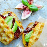 Hash Brown Bacon Avocado Breakfast SandwichRecipe