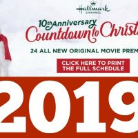 Hallmark Christmas Movies 2019: NEW Hallmark Movie Programming Calendar