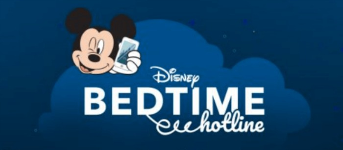 FREE Disney Bedtime Call