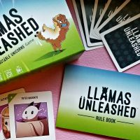 Family Fun: Llamas Unleashed Card Game