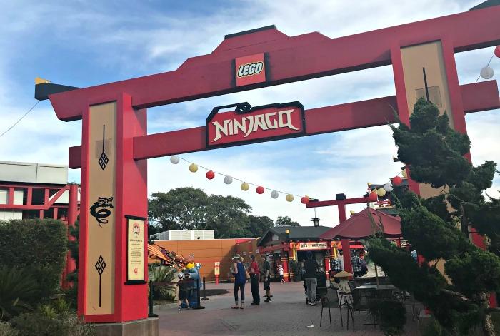 Ninjago at LEGO land