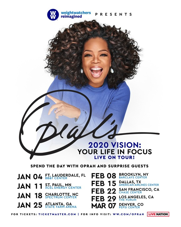 Oprah's 202 Vision Your Life in Focus Tour
