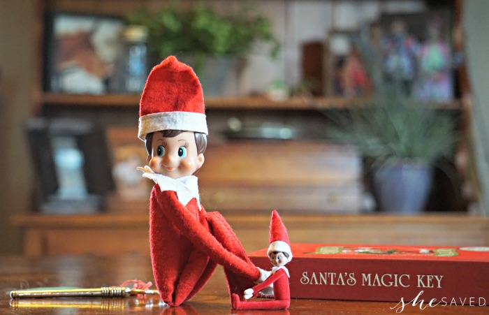 Shrinking Elf on Shelf