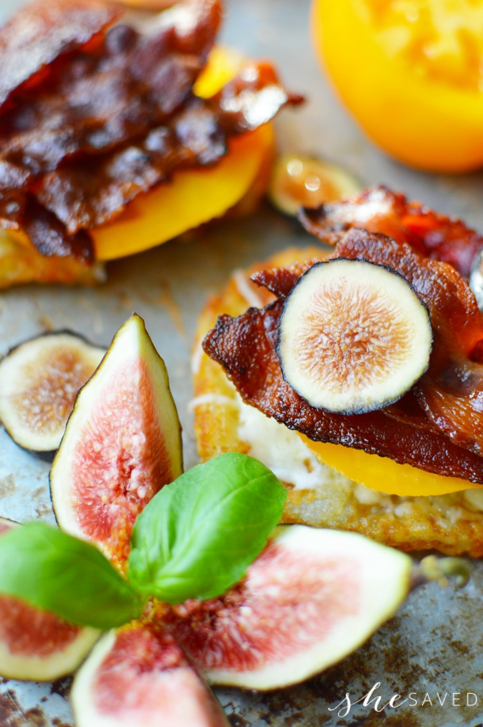 Starfruit on Bacon