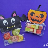 Make Your Own Halloween Treat Bags: FREE Printable