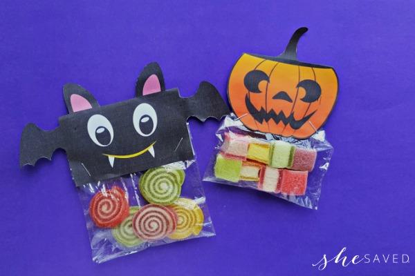 DIY Halloween Treat Bag Printable