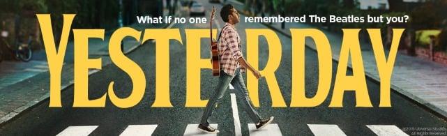 Yesterday Beatles Movie Poster