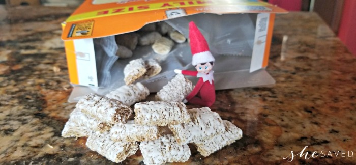 cereal box elf on shelf ideas