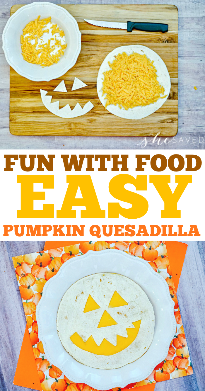 EASY PUMPKIN QUESADILLA RECIPE