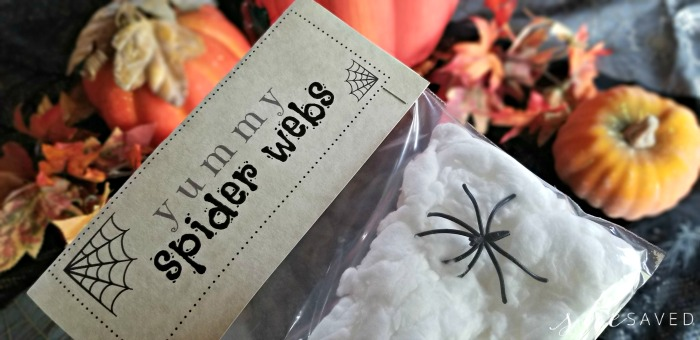 Free Spider Web Printable