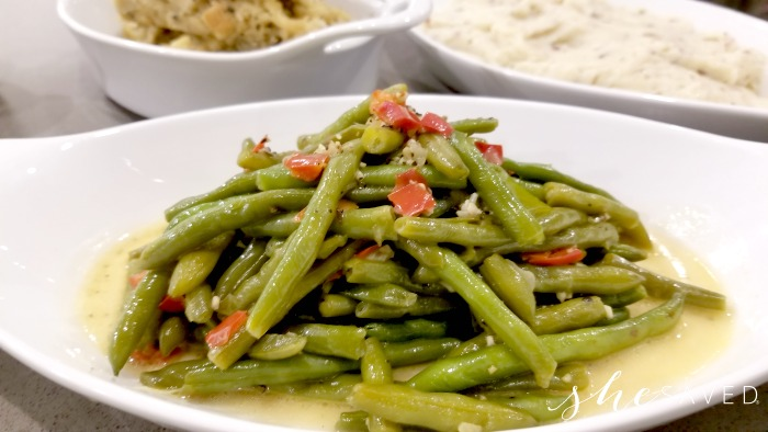 Green Beans from Omaha Steaks