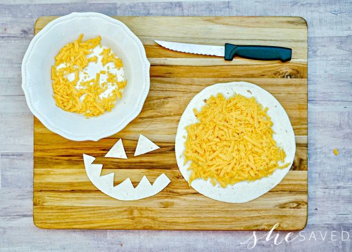 Halloween Tortilla
