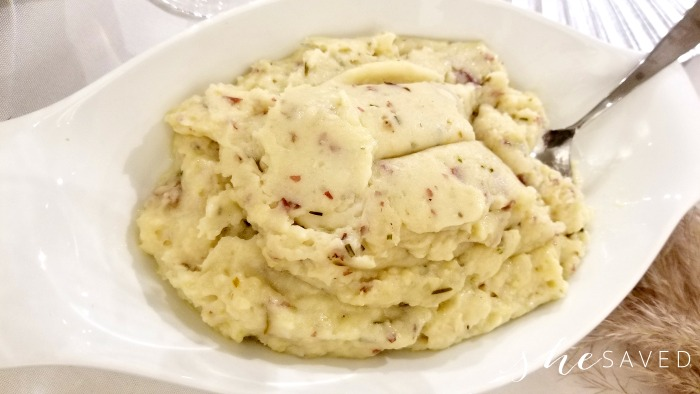 Mashed Potatoes from Omaha Steaks