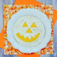 EASY Halloween Pumpkin Quesadilla