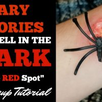 "Scary Stories to Tell in the Dark ""The Red Spot"" Makeup Tutorial + Giveaway!"