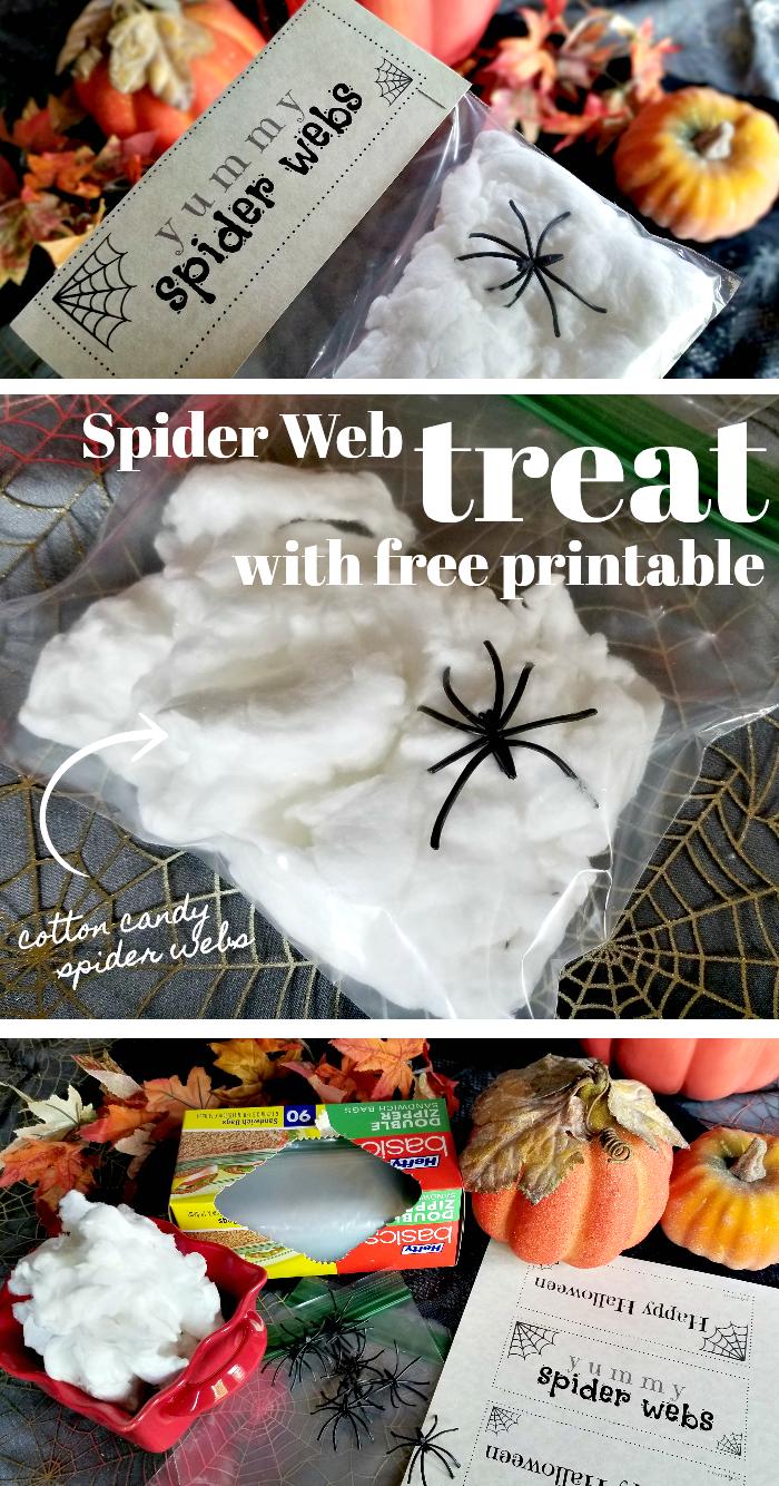 Spiderweb Treat Printable
