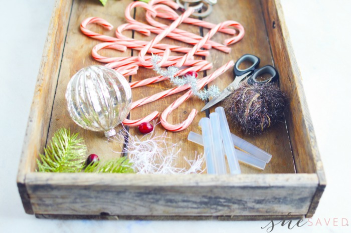 DIY Place Cards with Candy Canes