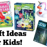 Gummy Candy Lab Review and MORE Great STEM Gift Ideas for Kids + Giveaway