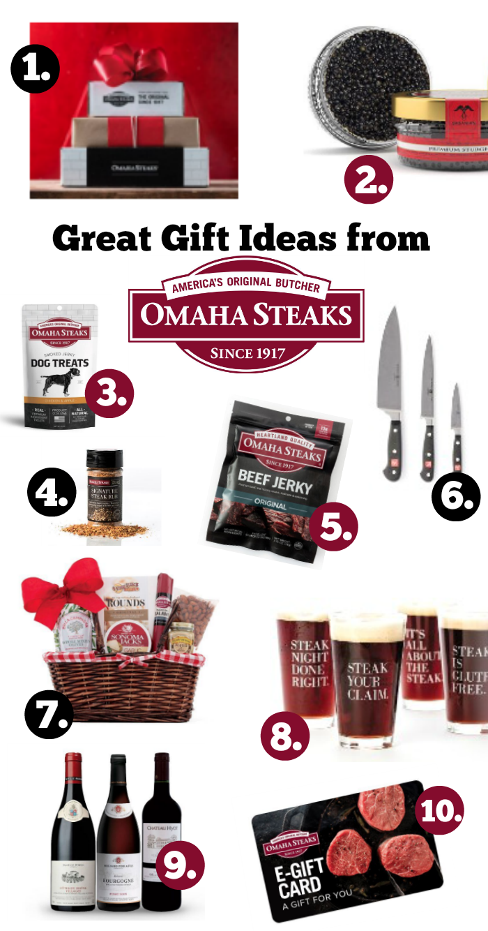 Great Gift Ideas from Omaha Steaks