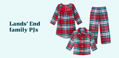 Lands End Family Pajamas