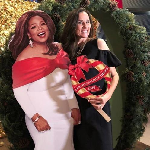 Me and Oprah 2019
