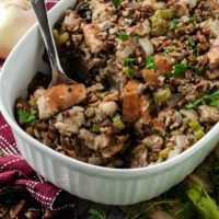 Thanksgiving Recipe: Pecan & Mushroom Stuffing