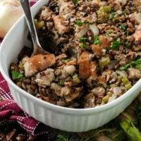 Pecan & Mushroom Stuffing