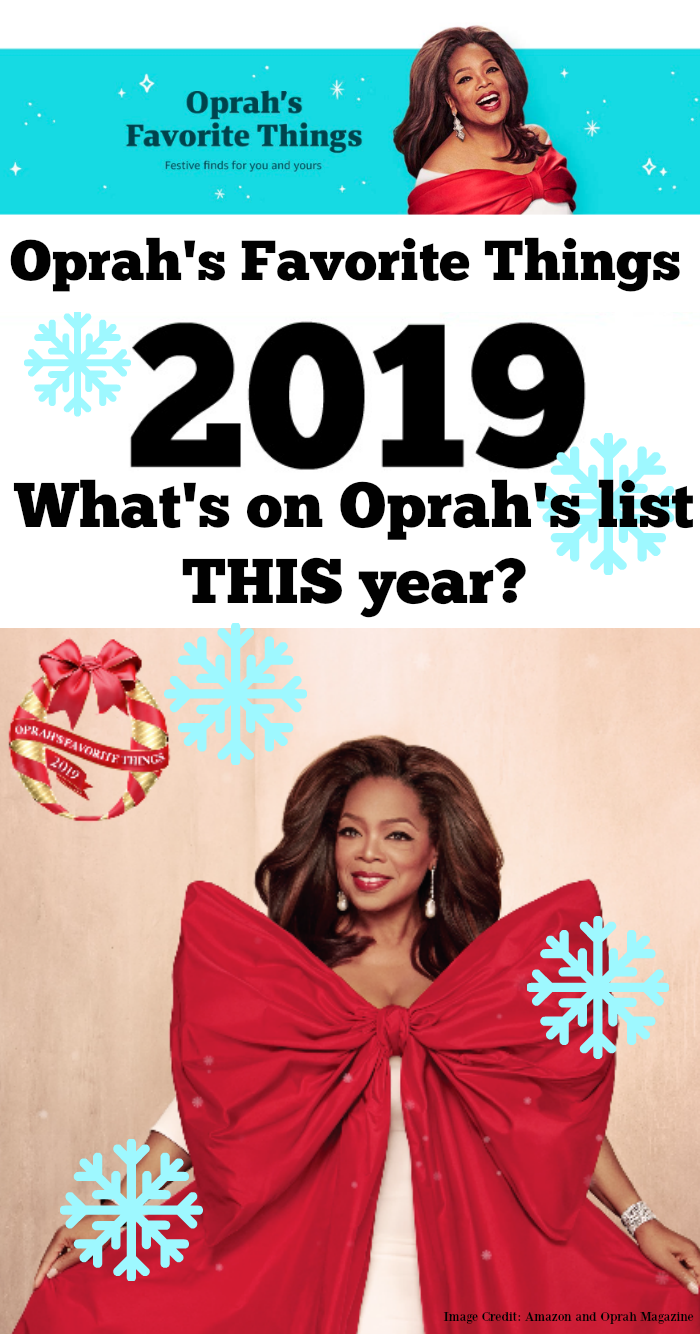 Oprah's Favorite Things 2019