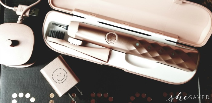 Rose Gold Burst Toothbrush
