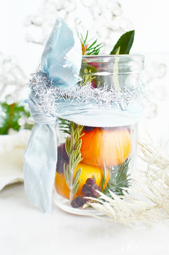 How to make Simmering Potpourri Jars