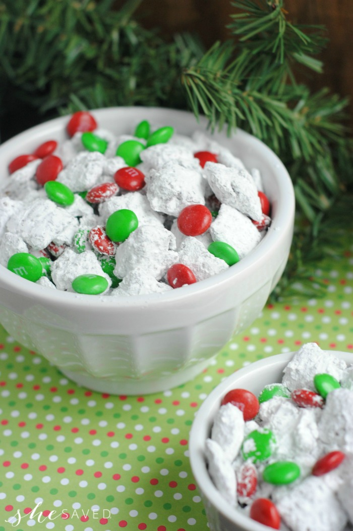 Holiday Muddy Buddies