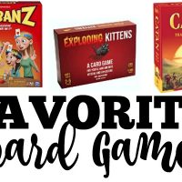 Favorite Board Games Make Great Gift Ideas