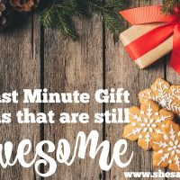 Last Minute Gifts to Give That Are Still Awesome