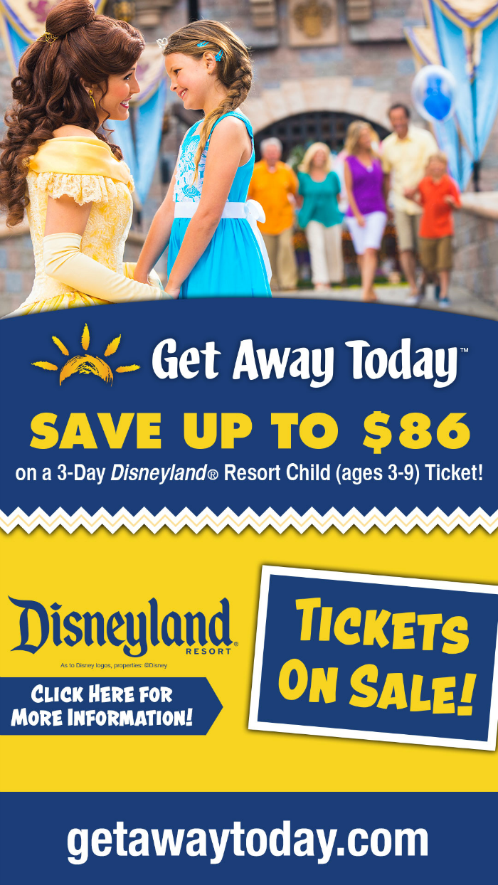 Disney Kids Ticket Sale