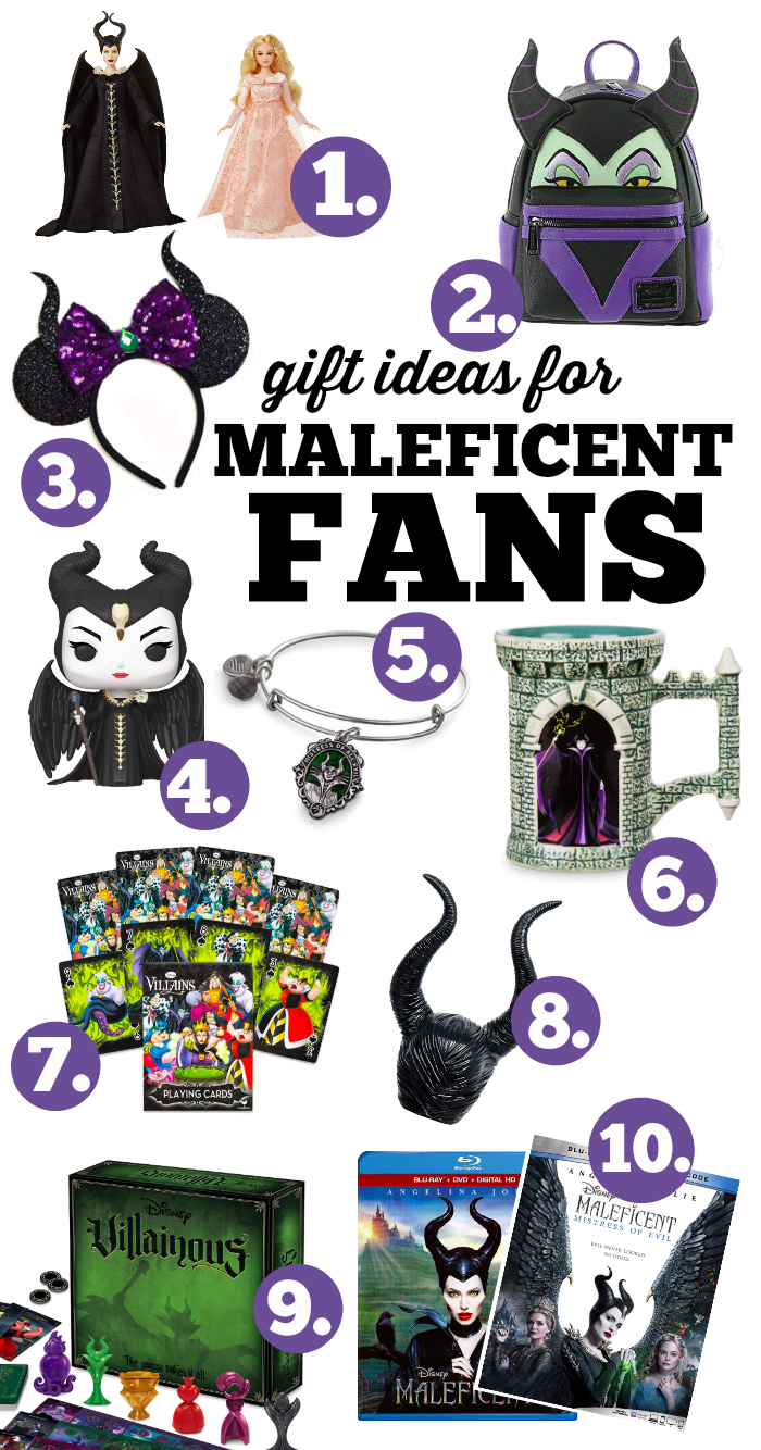 Maleficent Merchandise Gifts