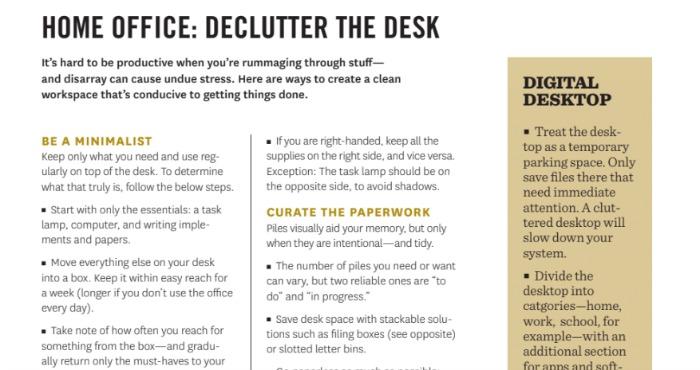 Martha Stewart Declutter