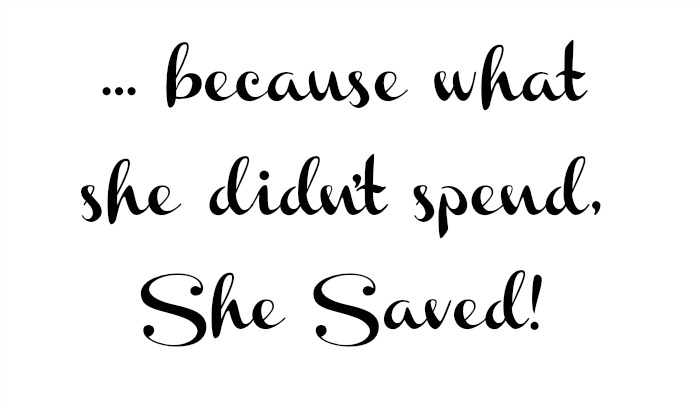 she saved motto