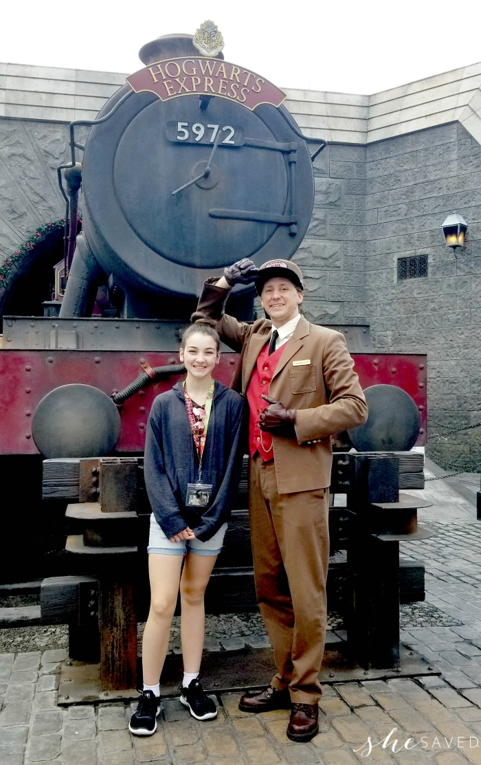 Hogwarts Express Universal Hollywood