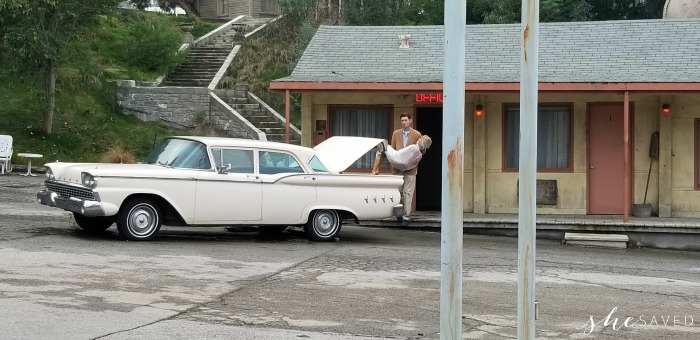Norman Bates at Universal Studios