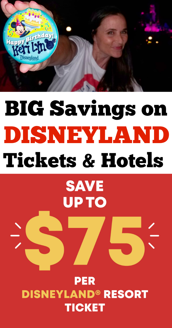 Save on Disneyland Tickets