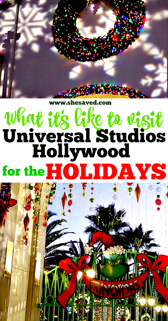Universal Studios Hollywood Holiday Events Calendar