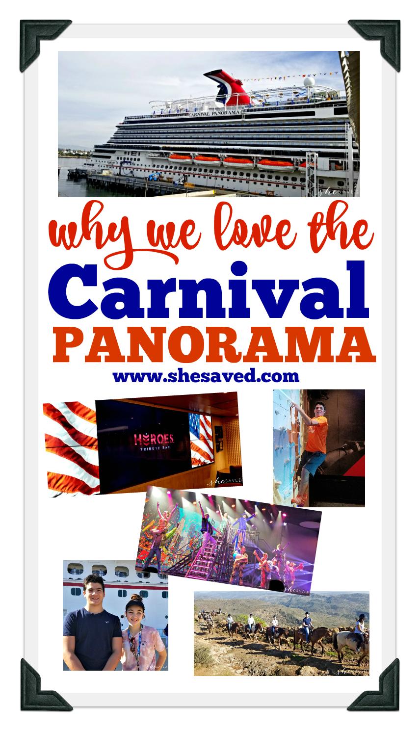 Carnival Panorama Review