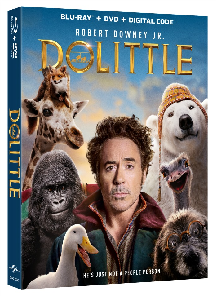 Dolittle Blu-ray out NOW