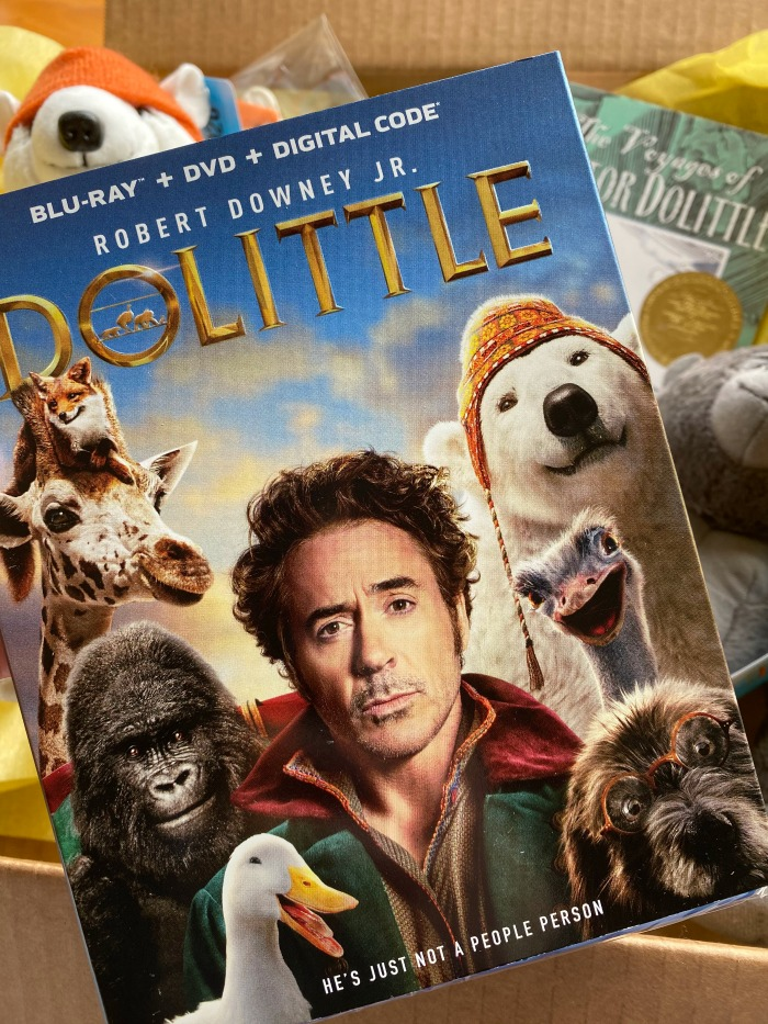 Dolittle Bluray for families