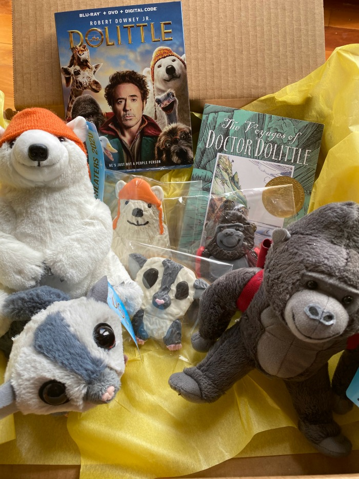 Dolittle movie and merchandise