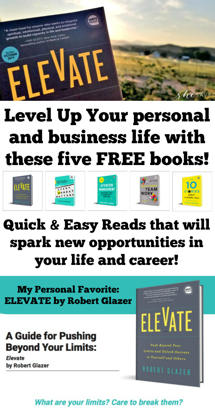 5 FREE Books to level up your personal and professional game!